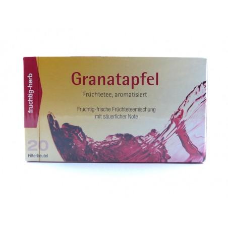 Granatapfel Früchtetee, aromatisiert Aufgussbeutel