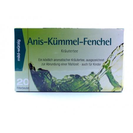 Anis-Kümmel-Fenchel Kräutertee Aufgussbeutel