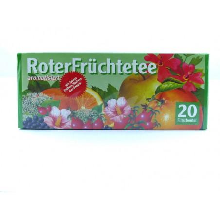 Früchtetee Erdbeer/Himbeer Aufgussbeutel