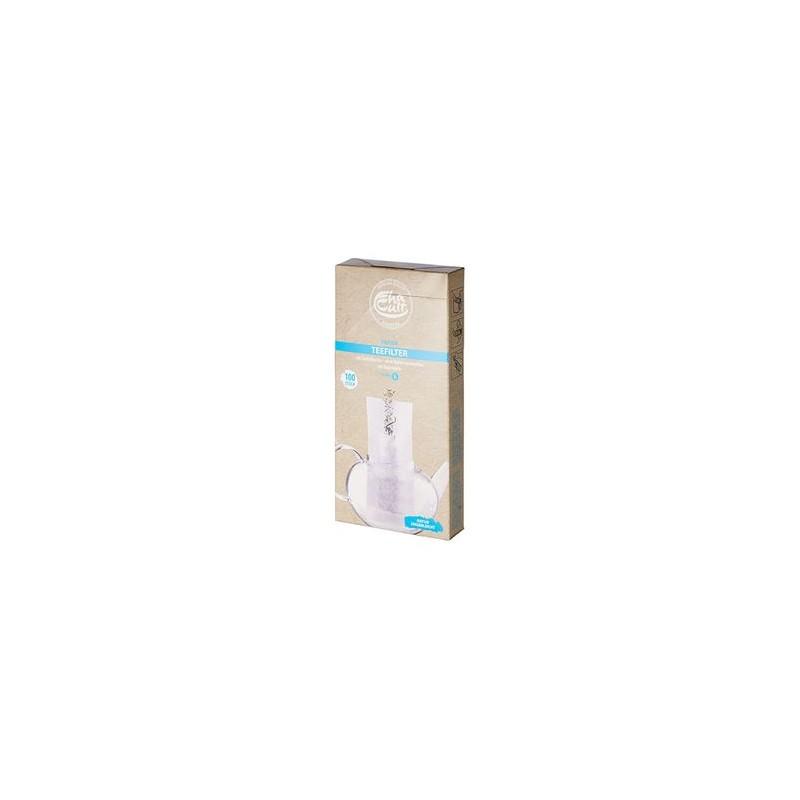 Filterpapier lang, Gr. L L: 4,5 cm B: 10 cm H:19,5 cm