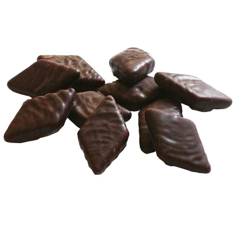 Salmiak Splitt in Schokolade