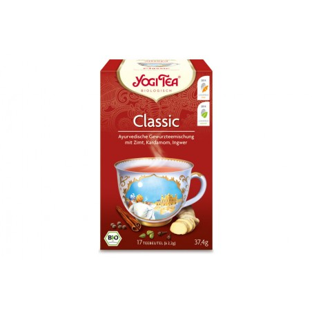 "Yogi Tea ""Classic"" BIO / 17 Teebeutel à 2,2 g"