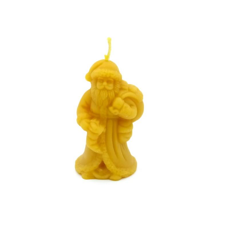 """Bienenwachskerze """"Weihnachtsmann"""""""